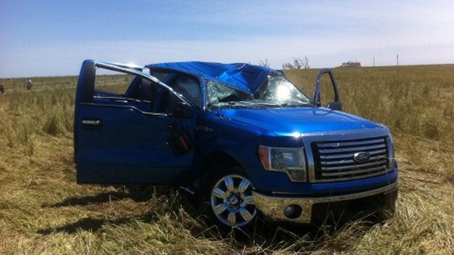 Oklahoma man thanks Ford after surviving tornado flight in pickup