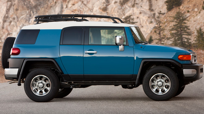 Best resale - Toyota FJ Cruiser