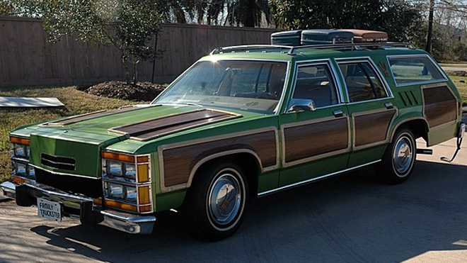 Family Truckster Road Tripping To Mecum Auction In