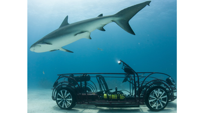 Volkswagen builds the worst shark cage ever