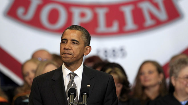 Obama praises Joplin's resiliency after tornado at graduation ...