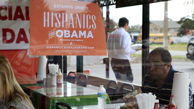 Latinos' Approval Of President Obama Plummets; Potential Major Problem For Democrats