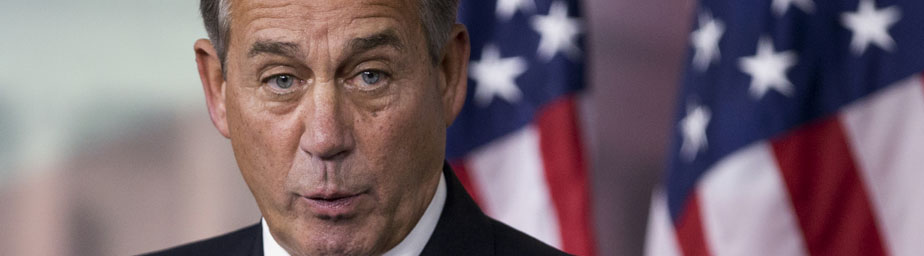House Speaker John Boehner escalated his battle with conservative groups opposed to the newly unveiled budget plan, saying they've lost all credibility as he charged ahead with a floor vote late Thursday.