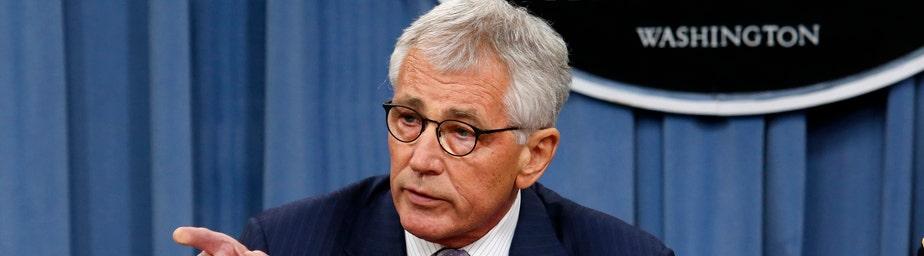 Defense Secretary Chuck Hagel on Thursday defended the deci