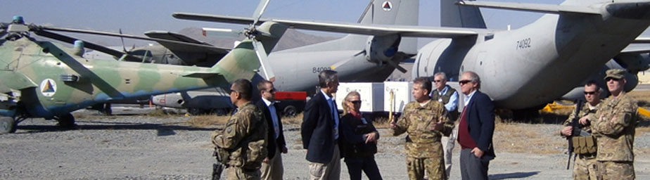 The U.S. military spent nearly a half-billion dollars on providing refurbished aircraft to the Afghan Air Force, only to abandon the contract and leave the planes collecting dust on airfields in Kabul and Germany.