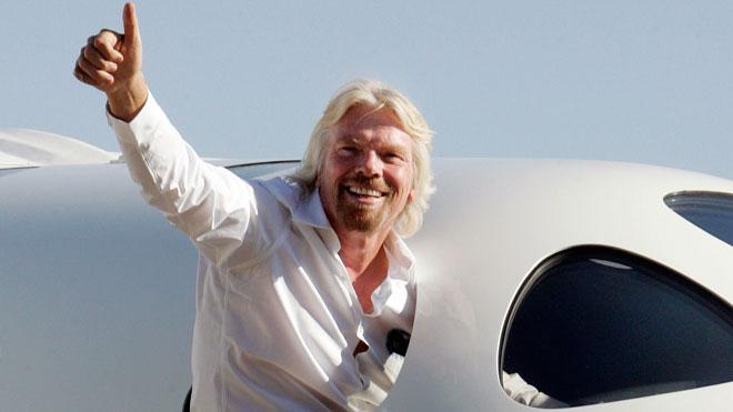 Richard Branson WhiteKnightTwo, Reuters