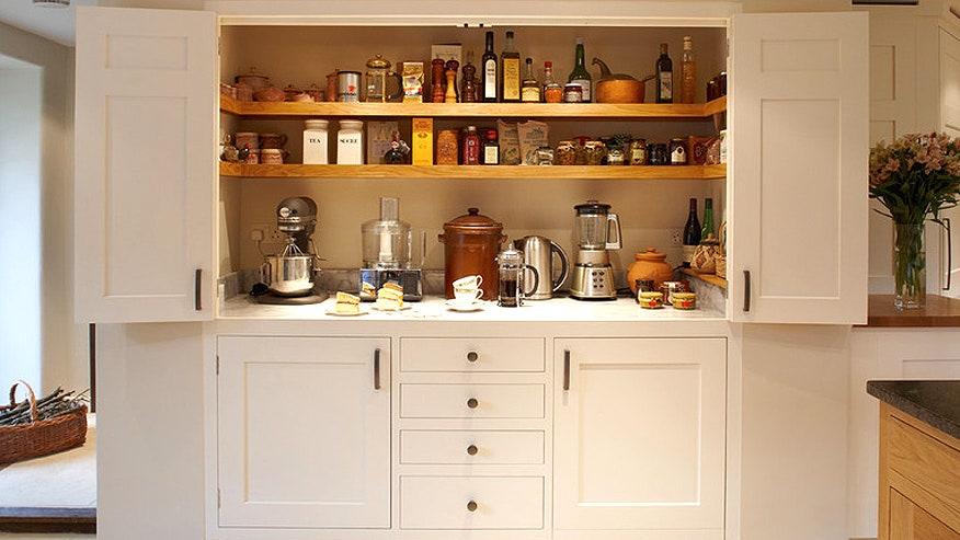 Unique Kitchen Storage Simple With Magnificent Kitchen Larder Photo