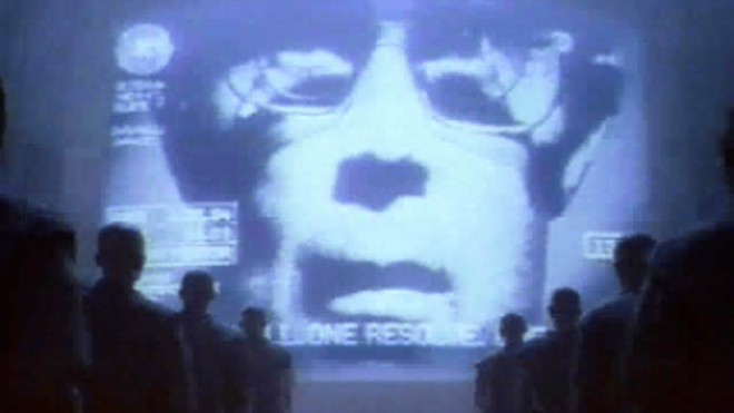 Apple 1984 'Big Brother' ad