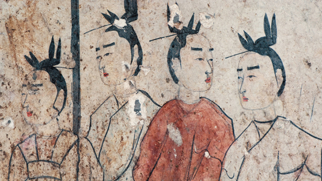 Ancient Chinese tomb murals found