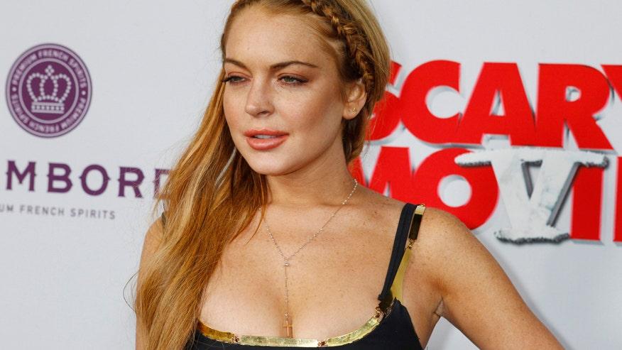 Could Lindsay Lohan go...