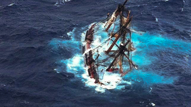 Captain made 'reckless decision' in sailing HMS Bounty into Superstorm Sandy, report says