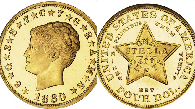 Rare gold coin from 1880 sells for $2.75M at auction