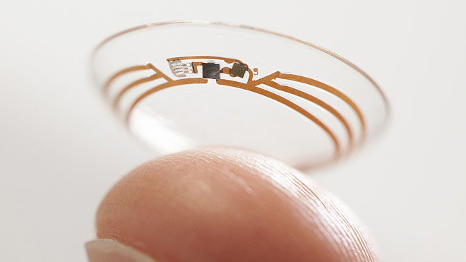 Google announces 'smart' contact lenses that monitor glucose levels