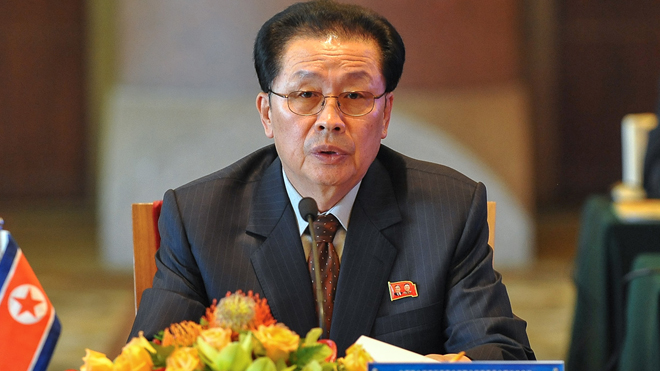 Jang Song Thaek, uncle of North Korea leader Kim Jong Un