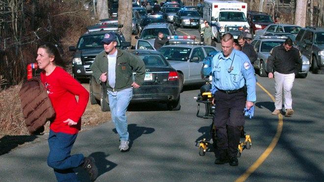 Sandy Hook Crime Scene