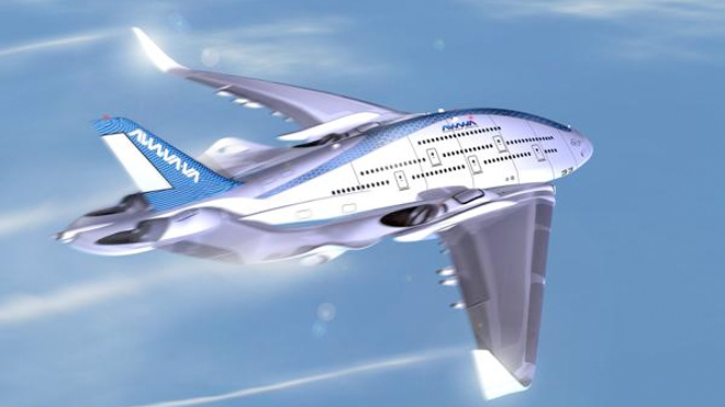 Is the bizarre Sky Whale the future of air travel?