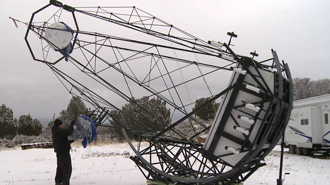 Utah man's creation may be largest amateur telescope ever built