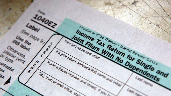 tax form, tax filing, tax, taxes, single filing joint, IRS