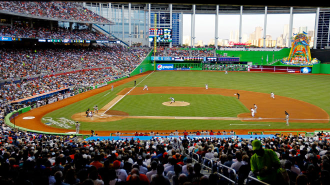 Miami Marlins Stadium