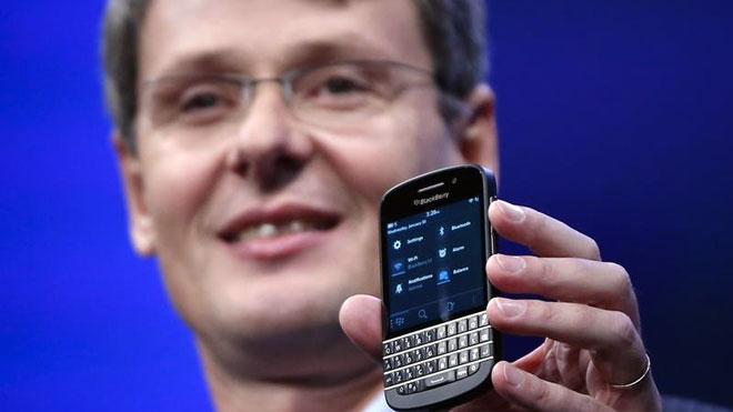 BlackBerry Q10, BlackBerry 10