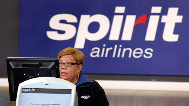 Spirit Airlines Ticketing Agent