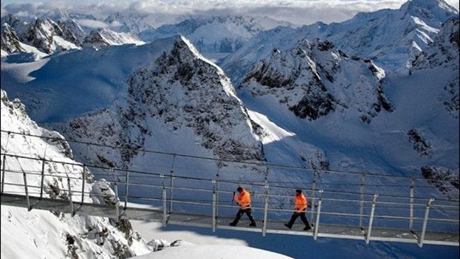[组图] Titlis Cliff Walk:世界最惊悚吊桥(18P) - 路人@行者 - 路人@行者