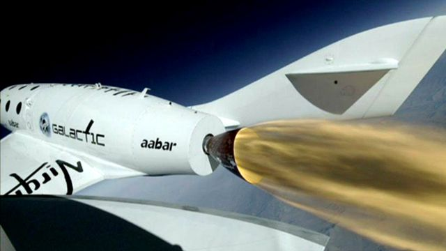 Virgin Galactic S Spaceshiptwo Reaches Record Height In