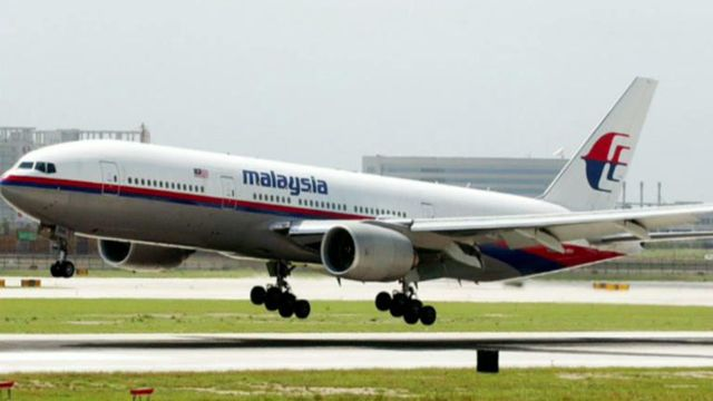 Malaysia Airlines Found