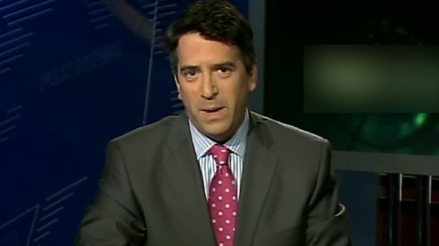 They all stand with Fox News' James Rosen