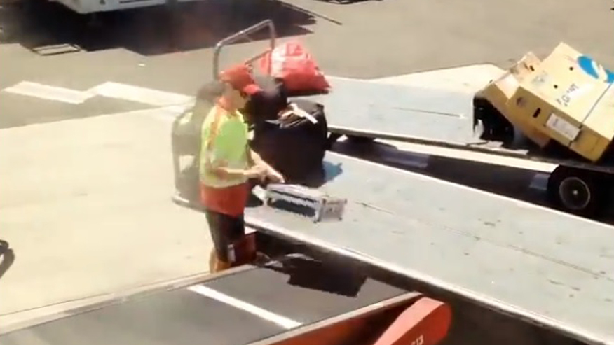 Aussie Airline Employee Caught on Video Throwing Musicians' Fragile Baggage